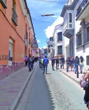 Cierran  calles del Centro Histórico