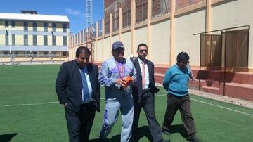Real Potosí: Toresani fue presentado y se puso a trabajar