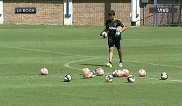 Boca Juniors entrena con pelotas de voleibol