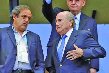 Confiscan archivos sobre Blatter y Platini