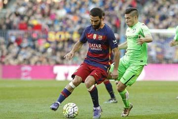 Barcelona golea 6-0 a Getafe