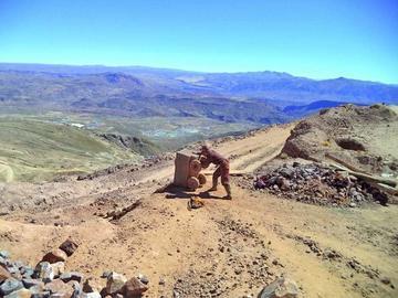 Baja la presencia de mineros cooperativistas en el cerro