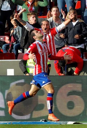 Sporting de Gijón vence a Atlético