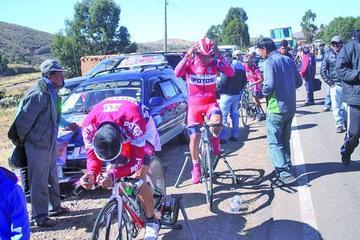 Los ciclistas deben pagar un seguro para correr en torneos