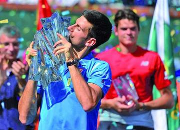 Djokovic se proclama campeón en Indian Wells