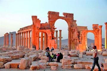 Tropas sirias arrebatan Palmira a yihadistas del Estado Islámico