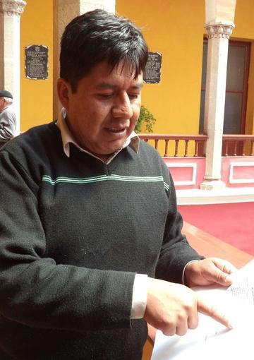 Concejal se presentará  al Ministerio Público