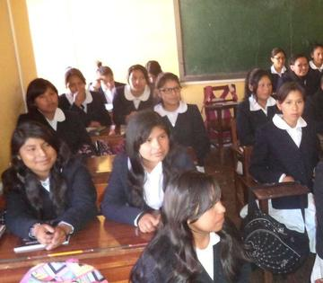 Liceo Sucre irá a actos de Tumusla