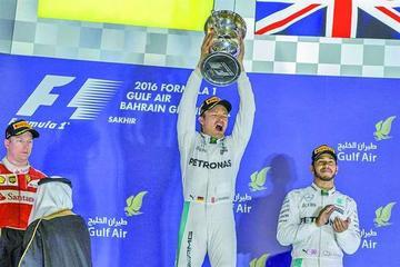 Rosberg gana el GP de Baréin