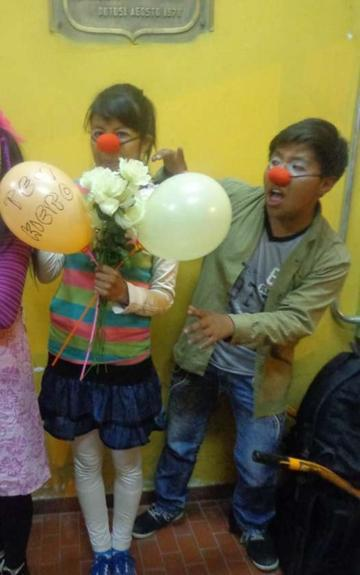 Elenco Wiñay presenta una comedia por el Día del Niño