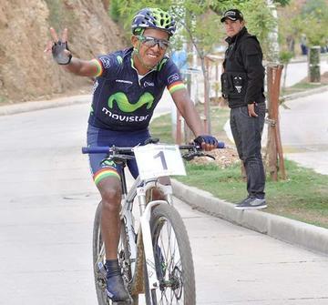 """El """"volcán"""" Soliz gana Samaipata Challenge de ciclismo"""