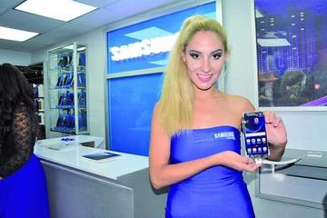 Samsung pone a Potosí en el mercado de la alta tecnología