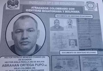 Expulsan del país a un colombiano y un ecuatoriano buscados por asesinato