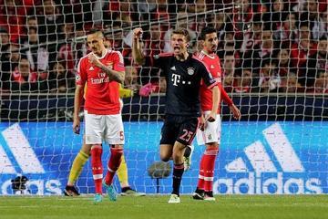 Bayern sufre para superar a un meritorio Benfica