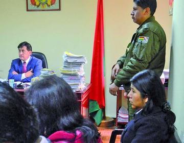 Choque develará quién le ordenaba consentir a la exnovia de Morales