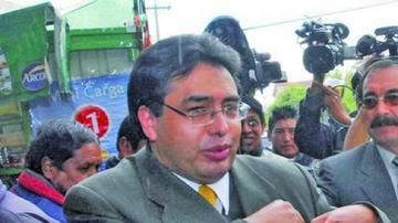 Milton Mendoza fue detenido por desprecintar sus oficinas