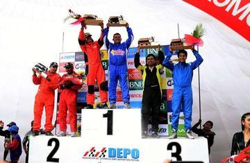 Sandoval apunta al título nacional de automovilismo