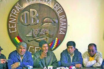 Mañana el presidente Evo y la COB definirán el incremento salarial