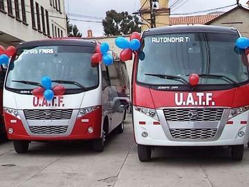 UATF busca habilitar el servicio de transporte para los universitarios