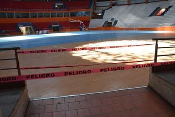 """Cierran el coliseo """"Ciudad de Potosí"""" por mantenimiento eléctrico"""