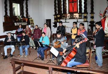 Misa Potosí se interpreta y canta esta noche
