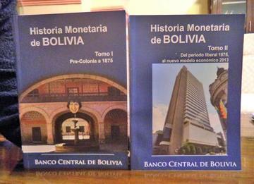 El BCB presentará el libro  sobre la historia monetaria
