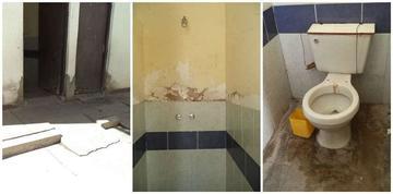 El Instituto San Juan de Dios no cuenta con baños adecuados