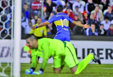 Boca Juniors toma ventaja tras ganar a Cerro Porteño a domicilio
