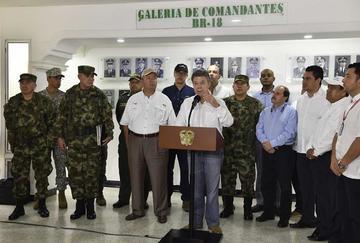 Santos ordena perseguir al ELN si es que no da muestras de paz