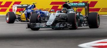 Nico Rosberg saldrá primero en el GP de Rusia