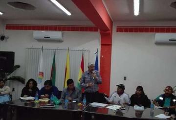 Acuerdo detiene huelga general indefinida en la población de Tupiza