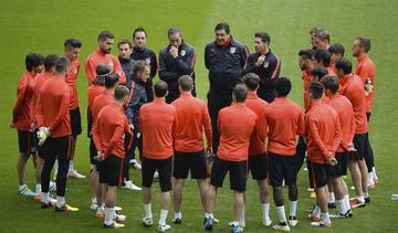 Atlético pretende darle el golpe final al Bayern