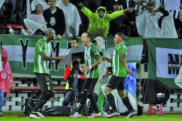 Guerra lleva a Atlético Nacional a cuartos de final