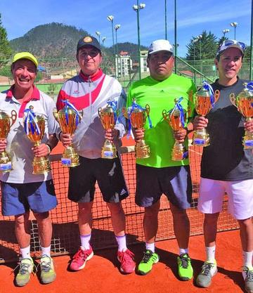 Potosinos logran podio en el nacional de tenis categoría seniors