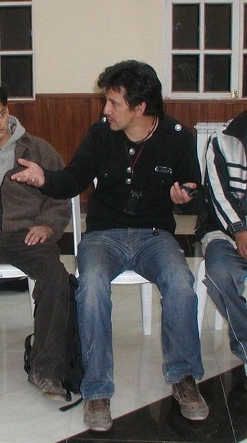 El potosino Enrique Gorena participa en festival de Chile