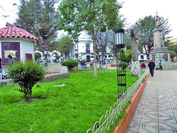 Cortan el agua para riego de las plazas de Potosí