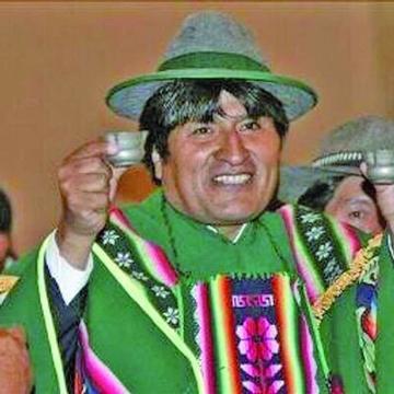 Evo Morales entrega obras en Cantumarca y Betanzos
