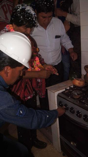 El gas domiciliario llega a las comunidades
