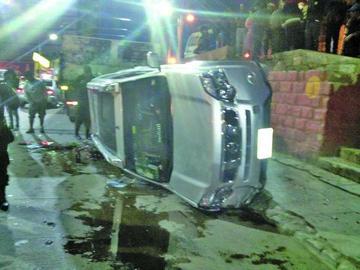 Fiscal dice que exjefe policial no  estaba ebrio el día del accidente