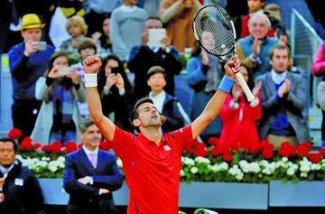 Djokovic gana el Mutua Madrid Open