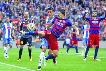 Barcelona golea 5-0 a Espanyol