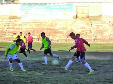 Selección potosina se prepara para el nacional de fútbol