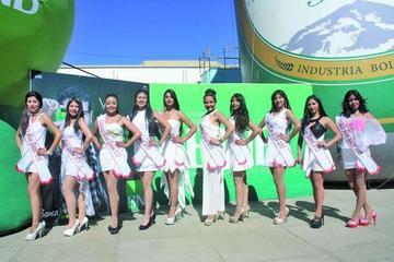 Presentan candidatas a Miss Potosí 2016