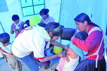 Potosí cuenta con 120.000 vacunas frente a la gripe