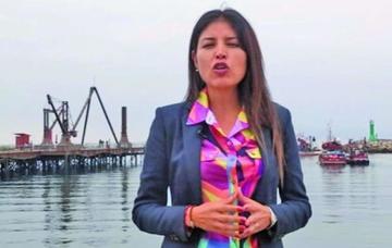 """Alcaldesa de Antofagasta le dice a Evo Morales: """"por qué no te callas"""""""