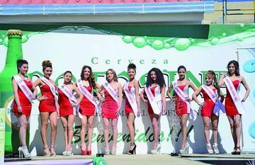 Diez candidatas van por el  Miss Potosí
