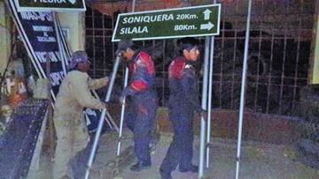 La Gobernación inicia la señalización de los caminos para el Silala
