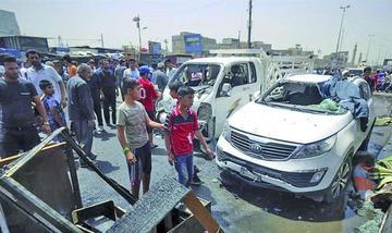 Tres atentados yihadistas dejan 93 personas fallecidas en Irak