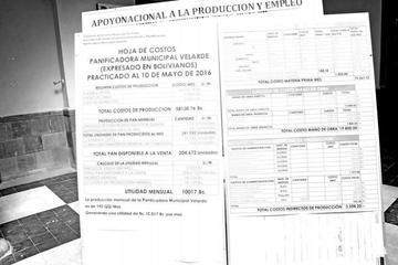 Publican la hoja de costos en la Alcaldía tras denuncias de panificadores