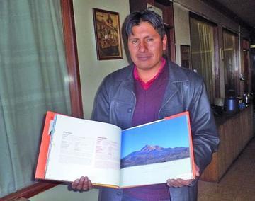 Sale un lujoso libro de fotografías e información de paisajes del sudoeste